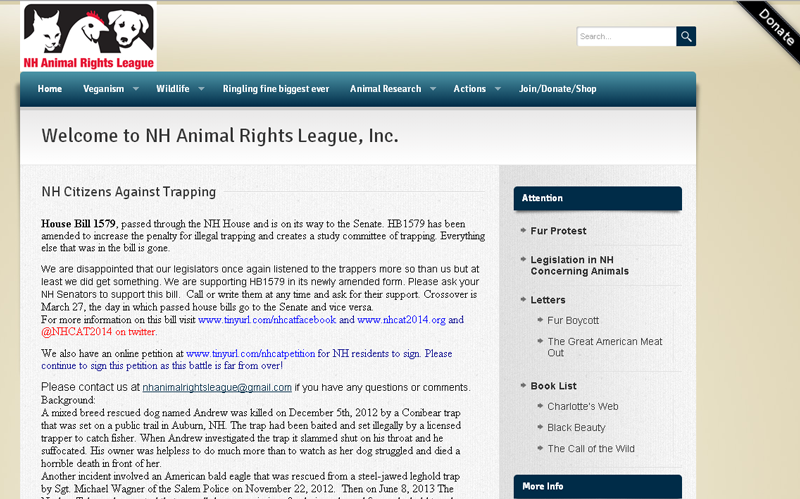 NH Animal Rights League Inc.